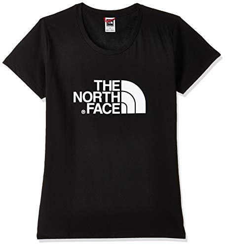 THE NORTH FACE W S/S Easy Tee - EU TNF Black T-Shirt Femme TNF Black FR : XL (Taille Fabricant : XL)