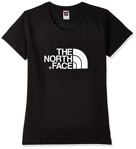 The North Face Easy Camiseta, Mujer, Negro (TNF Black), XL