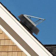 Solar Attic Fan 48-watt - Black - with 25-year Warranty - Florida Rated by Natural Light