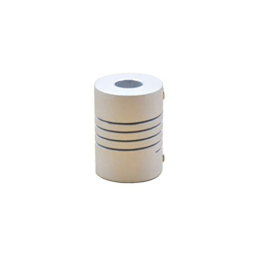 NIANZAI Hongfubang Diameter Coupler 3D Printer Parts Accessory Stepper Motor Aluminum Alloy Z Axis Flexible Coupling D15 L20 Coupler Shaft Coupling (Inner Diameter : 2mm to 2mm)