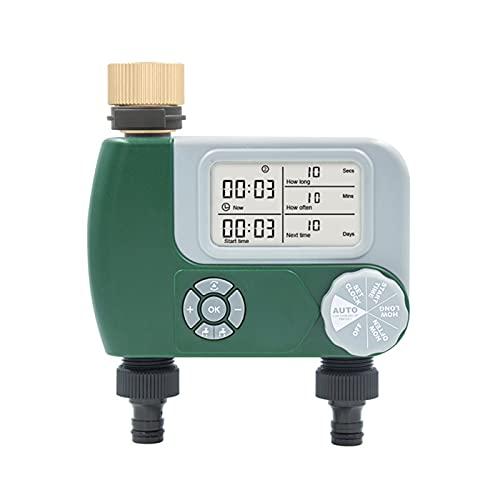 GYAM Controlador de rociadores Temporizador de riego automático Regulador de riego electrónico Temporizador de Agua Digital programable