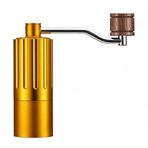 MRGMSLYHA Jednoczęściowy stalowy rdzeń szlifowania, regulowana grubość, ręczna maszyna do kawy, szlifierka gospodarstwa domowego, manualna młynka do kawy, ekspres do kawy