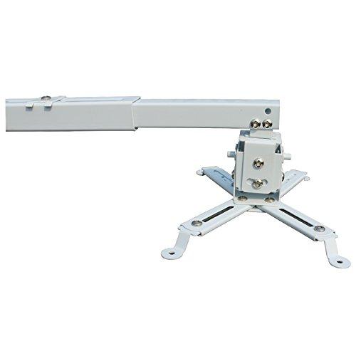 Caiwei proiettore accessori di montaggio a soffitto staffa a parete per videoproiettore mini treppiedi da tavolo treppiede portatile occhiali 3D per LCD LED proiettore DLP Wall Ceiling Mount Bracket White