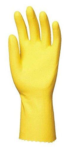 Euro protección 5027Super 5000par de guantes (látex, uso doméstico amarillo, Amarillo, 5029