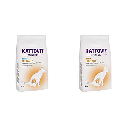 Kattovit Urinary Thunfisch, 1er Pack (1 x 4 kg) & Urinary Huhn, 1er Pack (1 x 4 kg)