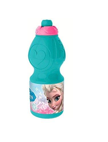 Disney Frozen 755732 - Sportflasche, 400 ml, 7 x 7 x 18 cm
