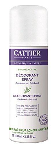 Cattier Brume Active Deodorant Spray 100ml by Cattier