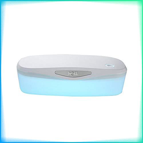 TiooDre - Caja de esterilización UV, esterilizador portátil, esterilizador ultravioleta con banda UVC, manicura de desinfección
