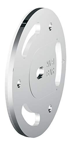 Moen SMA1000CH Home Care Securemount Anchor, Chrome