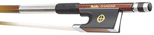 Coda Bow DGA4 Diamond GX Carbon Fiber 4/4 Violin Bow