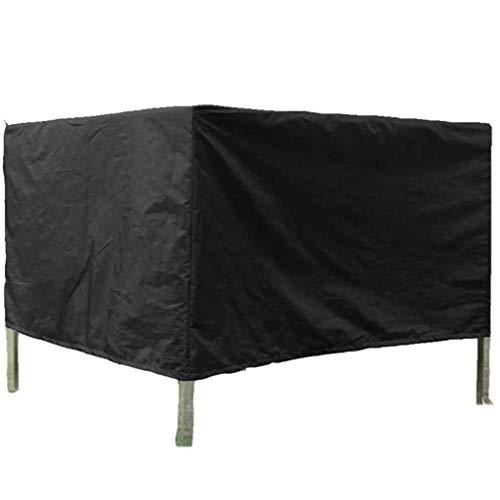 BAOFI Cubierta de Muebles de Jardin 60x60x60cm, Funda para Muebles de Patio Impermeable Polvo Protector Solar Fuera sostenible Cubo Parrilla de Barbacoa, 28 tamaños, ya Sea Individualmente,Black