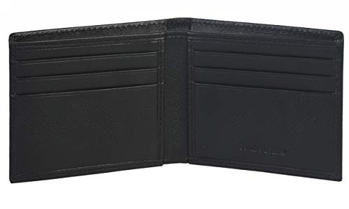 Eono Essentials Credit Card Wallet for Men- Slim RFID Protected 2 Note Compartment (Brown Nappa)