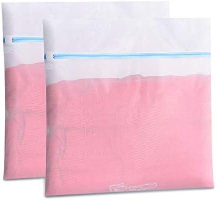 Polecasa 2 Pack 24x24 inch Mesh Laundry Bag Oversize Delicates Laundry Bag Extra Large Laundry product image