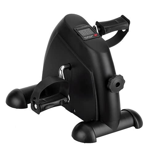 himaly Mini Heimtrainer, Heimtrainer für Arm und Beine, verstellbare digitale Pedale mit LCD-Display
