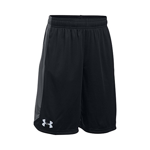 Under Armour Boy's Eliminator Shorts, Black /Graphite, Youth Large