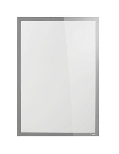 Durable 500623 Info-Rahmen Duraframe Poster Sun (A1, Plakatrahmen für Schaufenster) 1 Stück silber