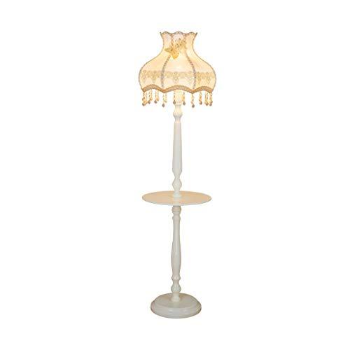 Koffietafel Floor Lamp Woonkamer Slaapkamer LED leeslamp Jane Europese Retro Creative Decoration Lamp Study Simple Verticale Light LED (Color : White, Size : 40cm*160cm)