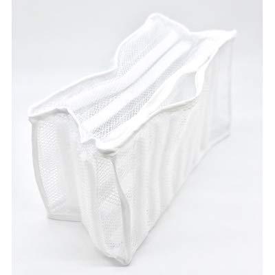 Logic(ロジック) シューズ用洗濯ネット (マチ付き洗濯機用ネット) メッシュ素材 防音クッション付 [上履き/スリッパ/スニーカー 丸洗い]