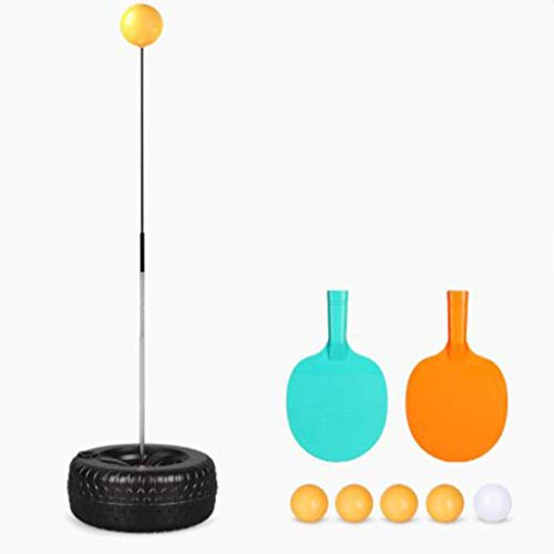 Why Choose YONGMEI Table Tennis Training Device-Elastic Flexible Shaft-Household Plastic Base-Decomp...