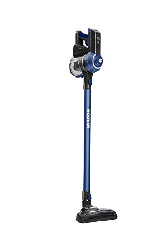 Hoover FD22L Freedom Lite Litio 2 in 1 Aspirapolvere 0,7 Litri Blu/Titanio