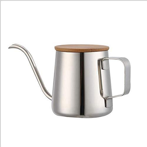 OH Edelstahl-Kaffeekocher Gooseneck Teekessel Kaffeemaschine Mit Isoliertem Griff, Temperaturregelung, Für Hobbybrauer, Camping Und Reisen Küchenzubehör