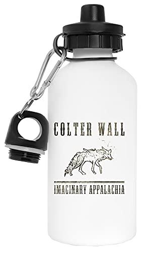 Colter Wall Botella de Agua Blanco Aluminio Reutilizable Water Bottle White Aluminium Reusable