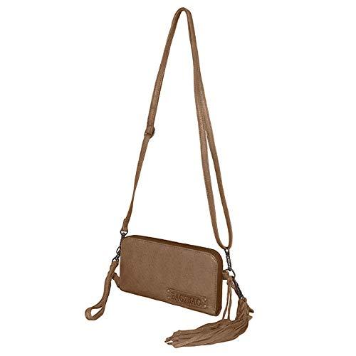 Bag2Bag Schoudertas/Clutch/Portemonnee New Jackson Grijs