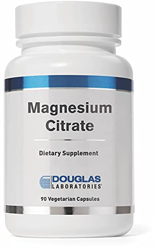 Douglas Laboratories - Magnesium Citrate - Supports Enyzmatic Activity, Muscles and Nerves - 90 Capsules