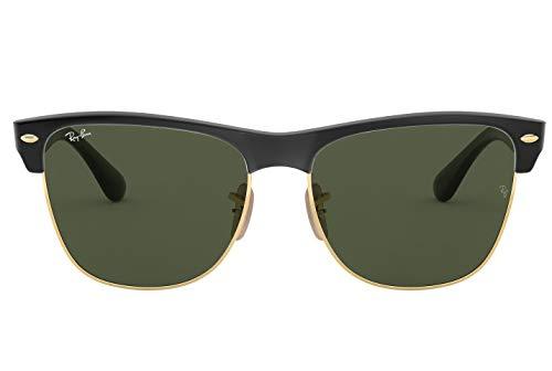 Ray-Ban RB 4175 877 - Gafas de sol unisex (montura negra y cristales verdes, 57 mm)