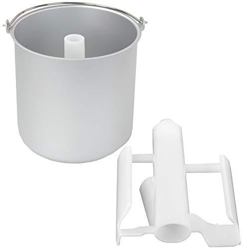 Ersatzbehälter für Eismaschine IC-250W Helado und Unold Eismaschine Cortina 48806