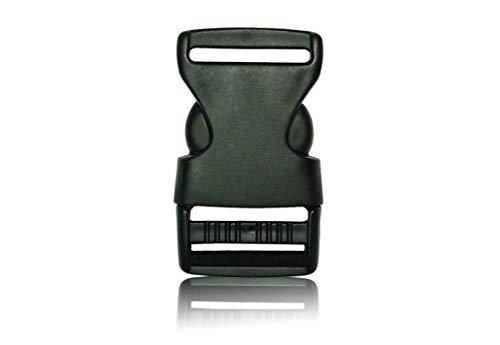 Schnalle 1X30MM - Double Side Release Schnallen Clips- Steckverschluss - Steckverschluss, Kunststoff Klickverschluss, Klippverschluss, Steckschnalle, Ersatzschnalle, Klippverschlüsse für Rucksack