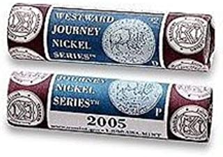 2005 P & D Westward Journey Nickel US Mint Wrapped Rolls American Bison Sealed Box