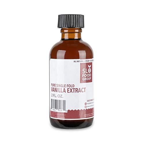 Pure Vanilla Extract| Single Fold Vanilla Extract for baking (2 fl oz.)