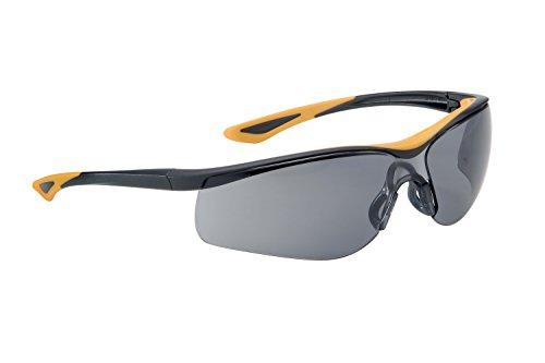 Dunlop Sport 9000A - Gafas de protección con lente ahumada, color negro