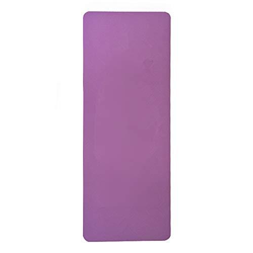 JenLn Ejercicio Yoga Mat Perfecta For Los Hombres Y Las Mujeres Gym Fitness Esteras For Acampar Y Entrenamiento De Gimnasio En Casa Uso Al Aire Libre Estera de Entrenamiento para Ejercicios de Piso