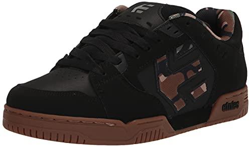 Etnies Faze, Zapatos de Skate Hombre, Negro Camuflaje, 42 EU