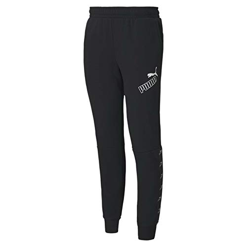 PUMA Herren Amplified Pants FL cl Jogginghose, Black, L