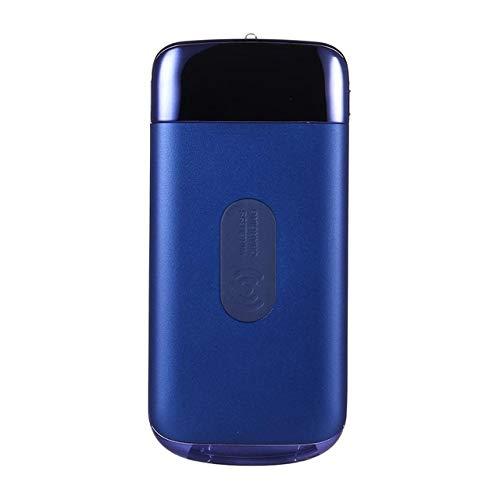 DishyKooker Wireless Charging 10000mAh powerbank externe oplader powerbank draagbare QI snel opladen voor I-Phone XS Max Xiao-mi elektronische producten voor geschenken, blauw