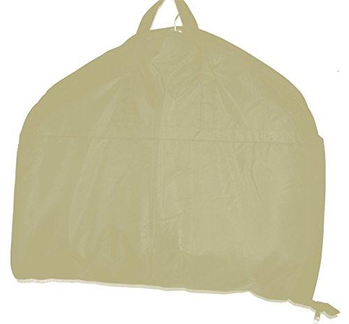 HBCOLLECTION Foldable borsa porta abiti da viaggio, Custodia per costumi Beige