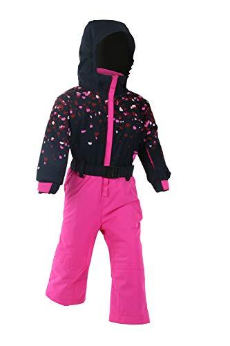 Degré 7 Kid Combi - Traje de esquí para niña, Niñas, Color Ultra Pink, tamaño FR :...