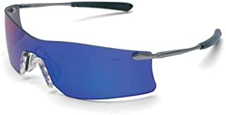 Crews T411G Rubicon Safety Glasses Emerald Mirror, Lens, 1 Pair