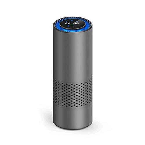 Bdesign Pequeño purificador de Aire de Silencio Inteligente con Filtro de Aire Fresco Anion Coche purificador de Aire Sensor infrarrojo Limpiador de Aire Mejor para Oficina en casa Oficina