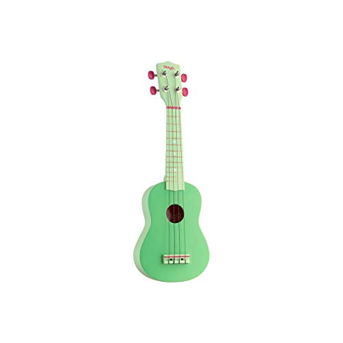 Stagg USGRASS - Ukelele soprano, color verde