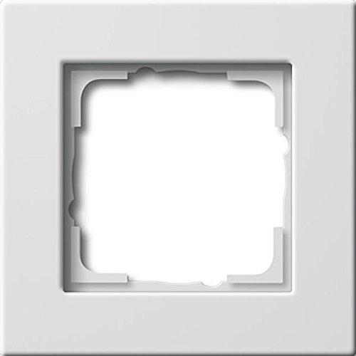 Gira 0211207 Abdeckrahmen 1-fach Gira E22 BS 80, reinweiß