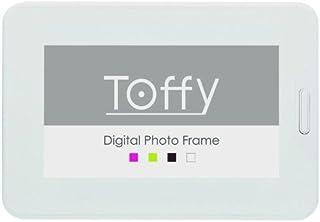 Toffy 7インチ液晶 インテリア デジタルフォトフレーム シュガーホワイト DP02-70-SWH
