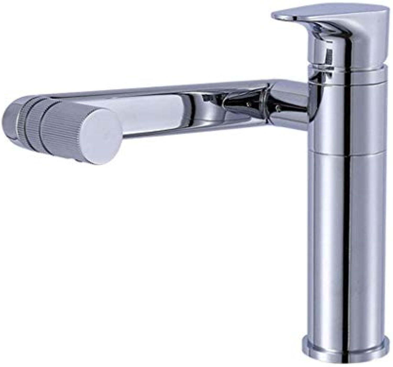 Giow Spültischarmaturen Kupfer warmes und kaltes Waschbecken Waschbecken rotierenden heien und kalten Waschbecken Wasserhahn Wasserhahn