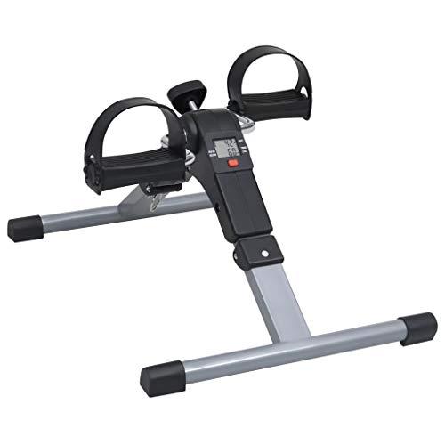 vidaXL Pedaliera per Gambe e Braccia con Schermo LCD Atrrezzi per Allenamento Muscolare Macchine per Fitness e Cardio Palestra Cyclette