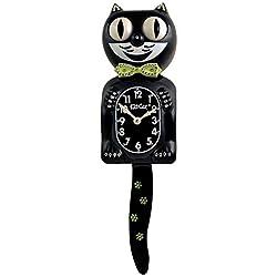 Kit Cat Klock Limited Edition Light Green Bow Swarovski Crystals Jeweled Clock