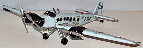 Junkers JU - 52 para avión 1930 2, WK chapa avión chapa modelo Tin Model Vintage wellenshop ca, 34 x 52 cm 37230