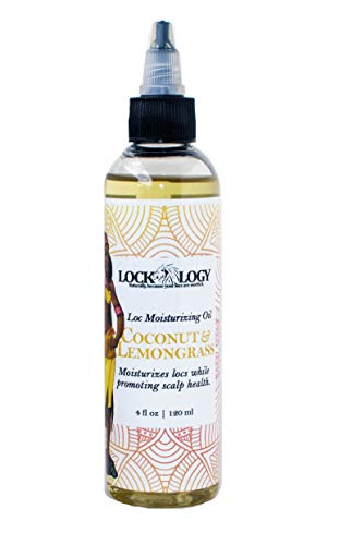 Loc Oil For Dreads   All Natural Coconut Lemongrass Loc Moisturizer   Dreadlock Hair Products by Lockology